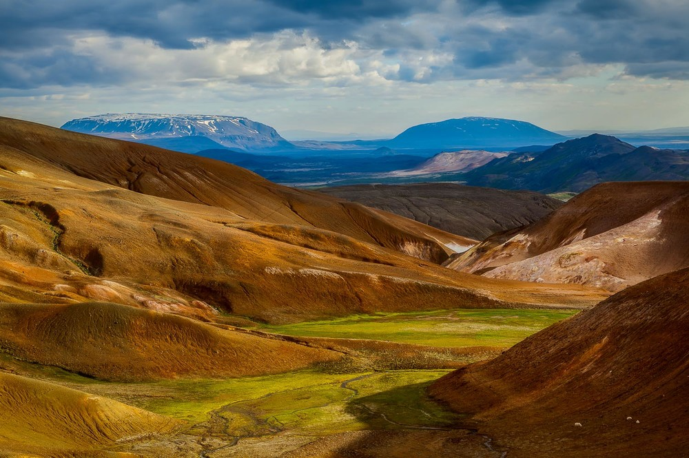 Volcanic Landscape, Myvatn, Iceland