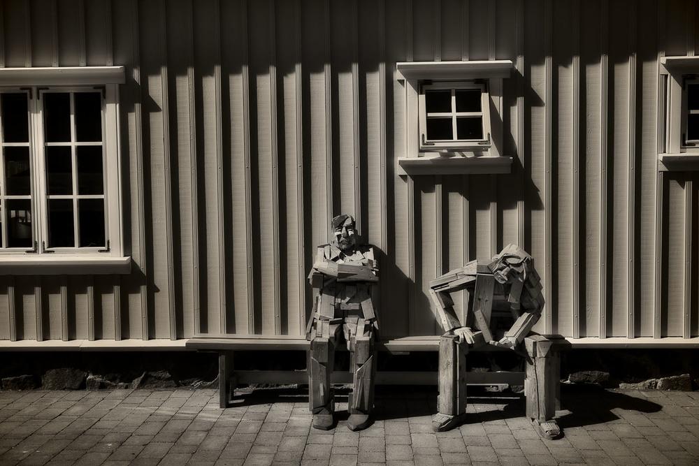 Wooden Men, Iceland