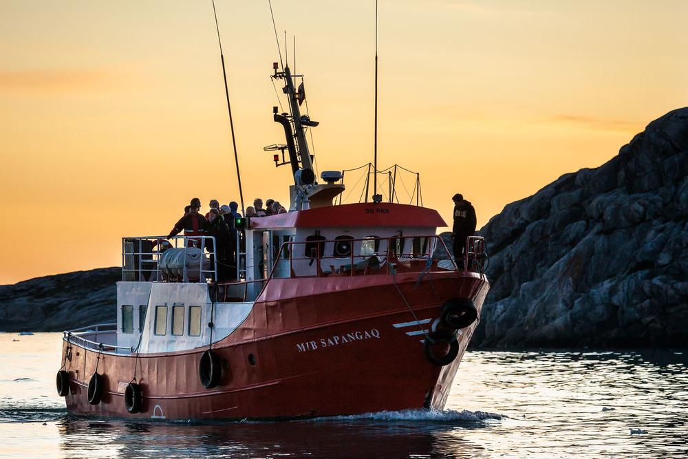 Midnight Sun Cruise, Ilulissat, Greenland