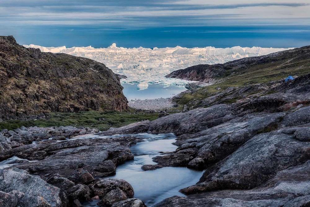 Hiking Near Ilulissat, Greenland