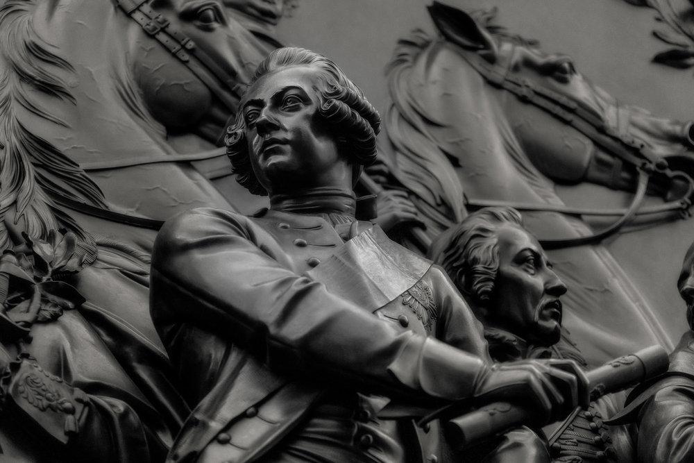 Statue, Military Figure, Berlin
