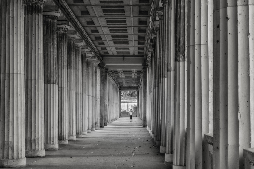 Covered Walkway, Museum Island, Berlin