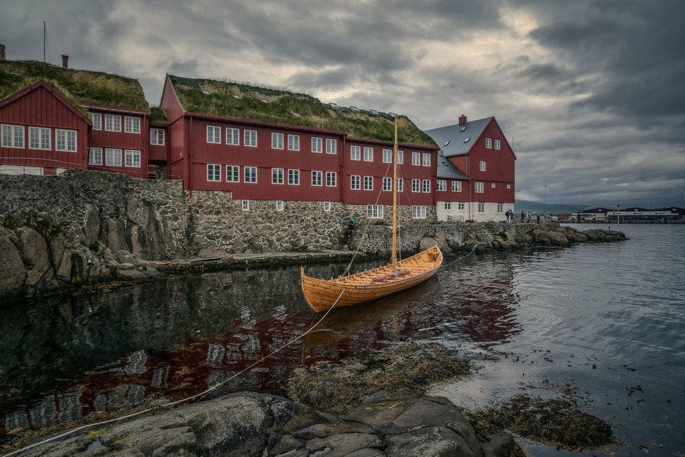 Wooden Boat, Tórshavn, Faroe Islands