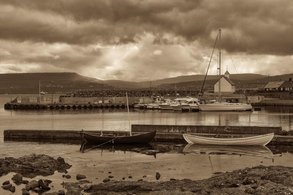 Boats, Nólsoy, Faroe Islands