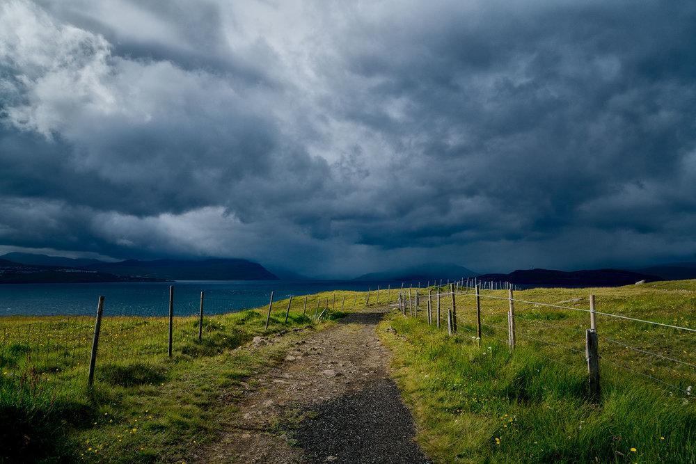 Pathway, Nólsoy, Faroe Islands