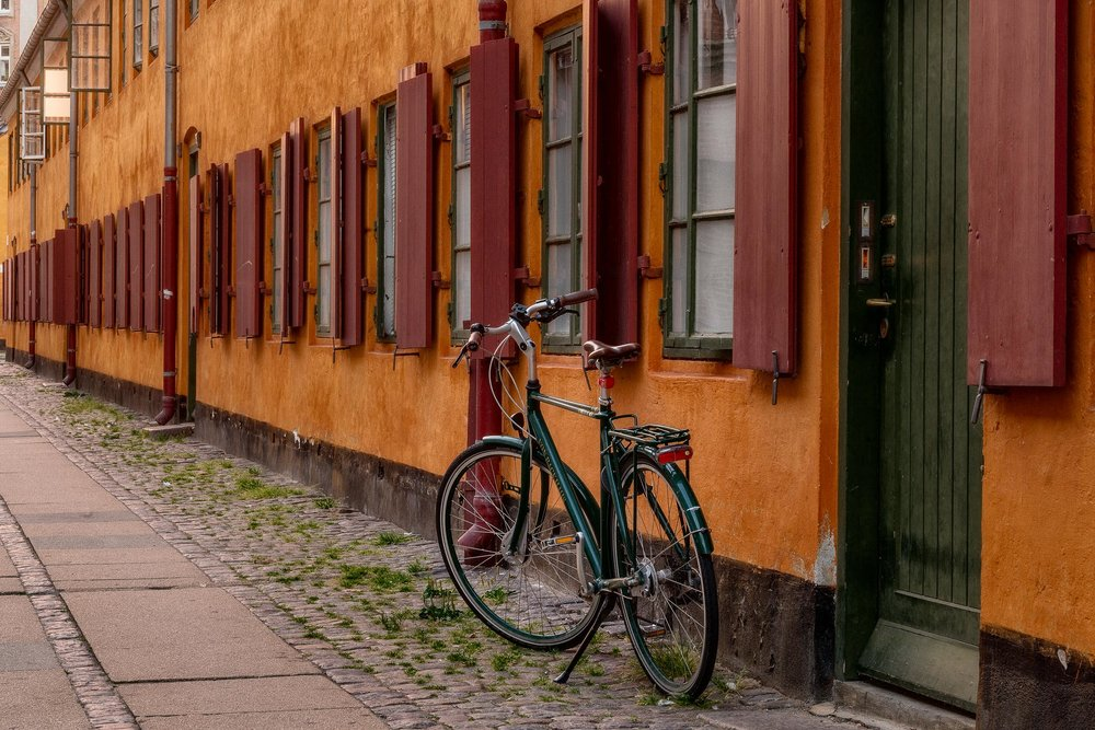 Bicycle, Copenhagen, Denmark