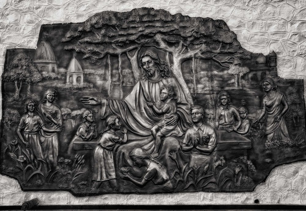 Relief of Jesus Christ, St. Thomas Mount, Chennai, India