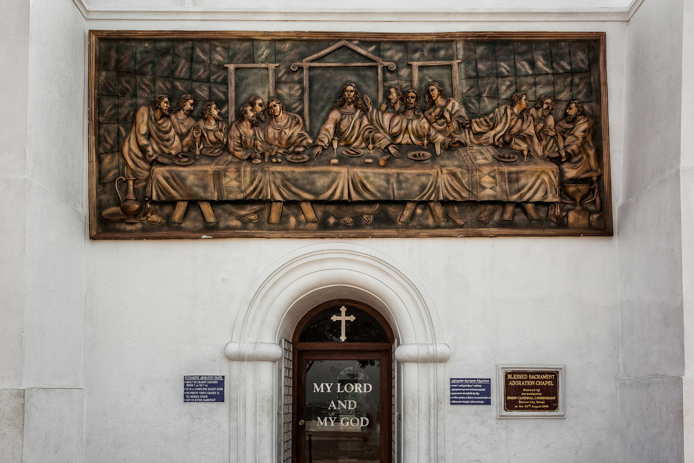 The Last Supper, St. Thomas Mount, Chennai, India