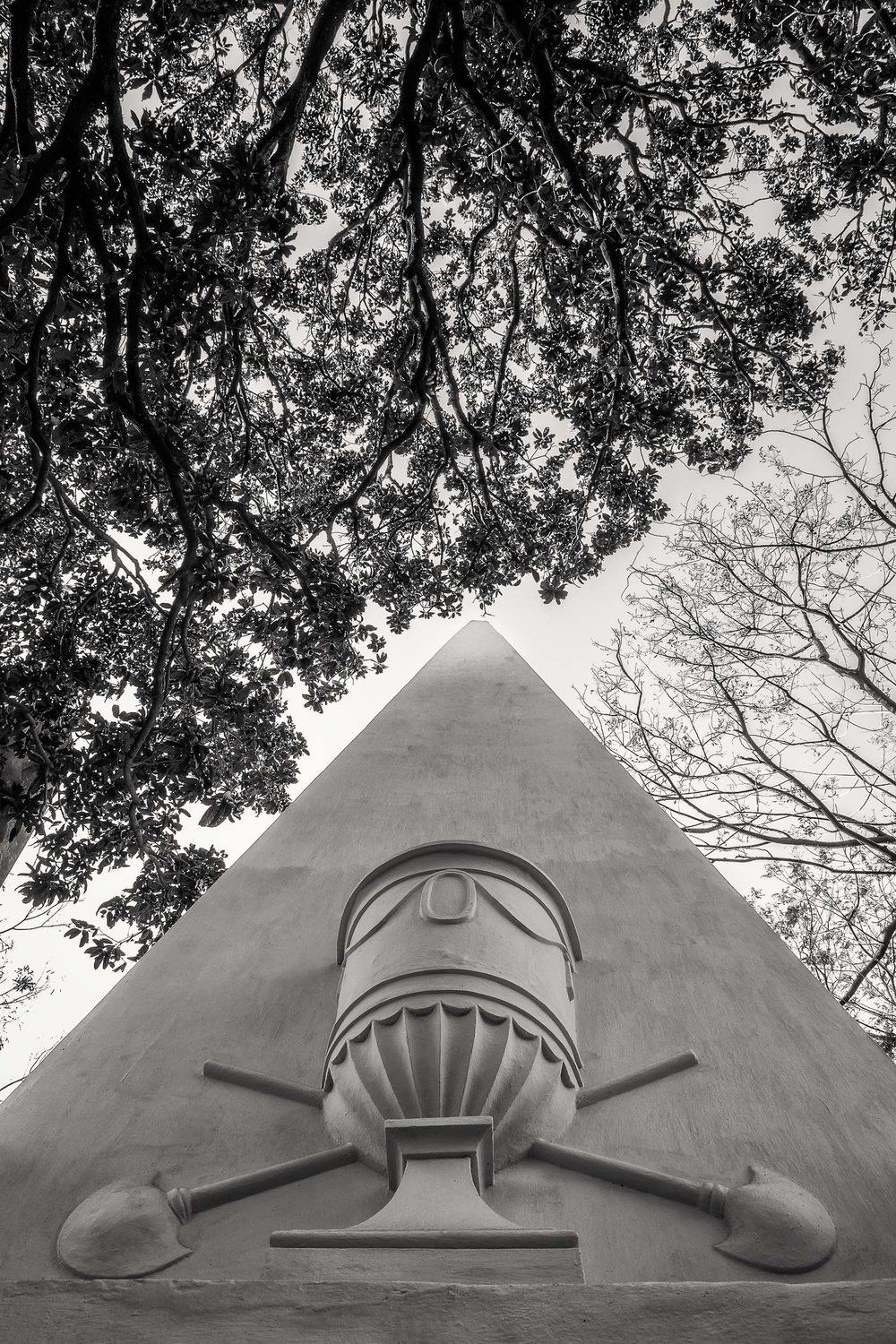 Upwards, South Park Street Cemetery, Kolkata, India