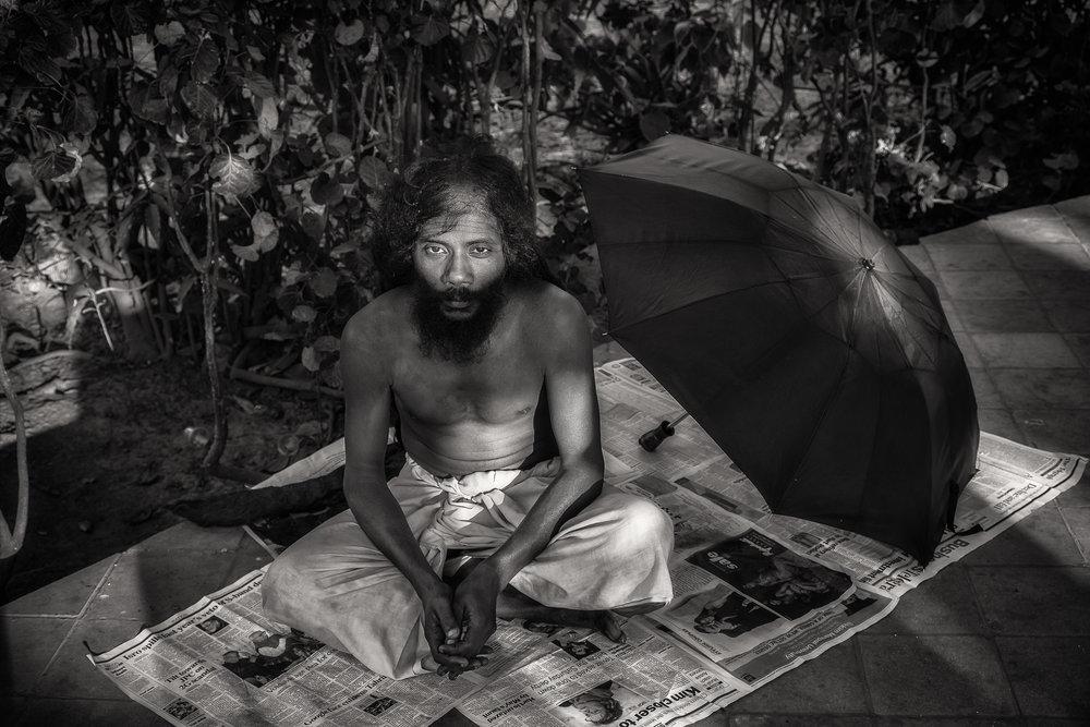 Resting Yogi, Kolkata, India