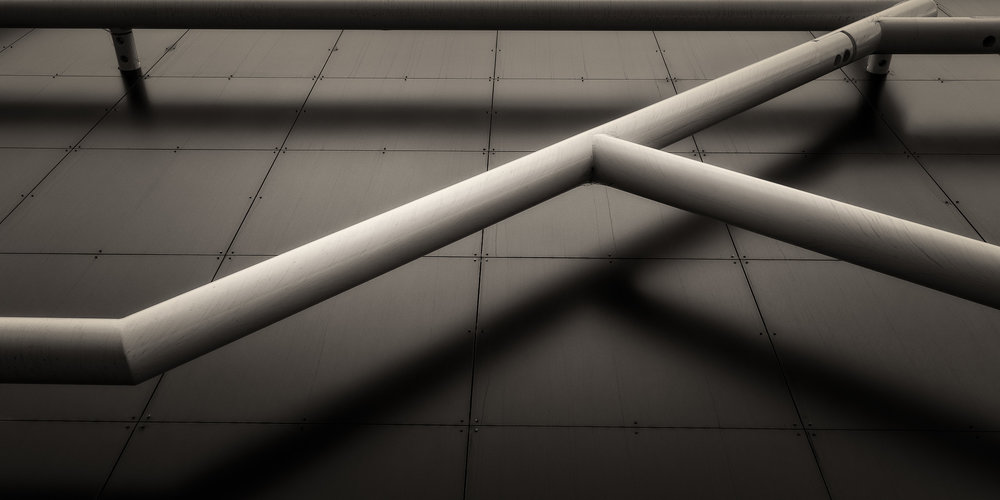Pipes and Shadows, Melbourne, Australia