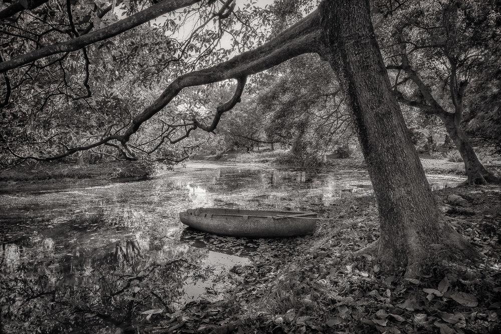 Old Boat, Kolkata, India