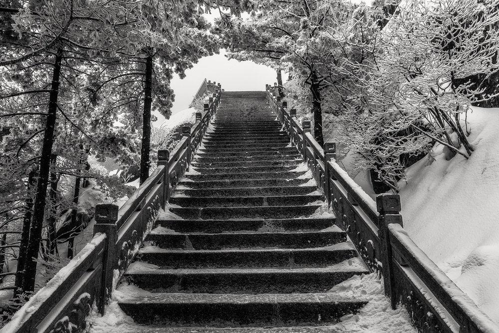 Stairway to Heaven, Huangshan, China