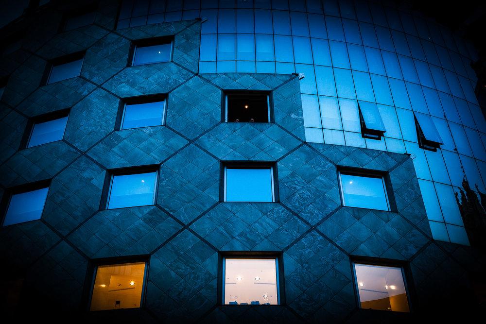 Modern Architectural Detail, Vienna, Austria