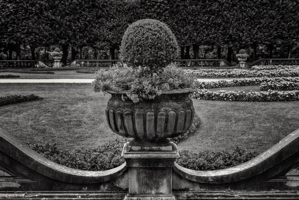 Symmetry, Mirabell Gardens, Salzburg, Austria