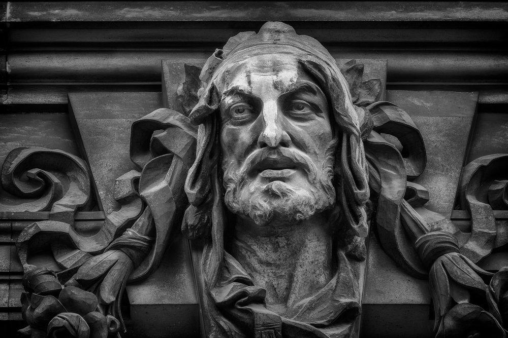 Stone Face, Vienna, Austria