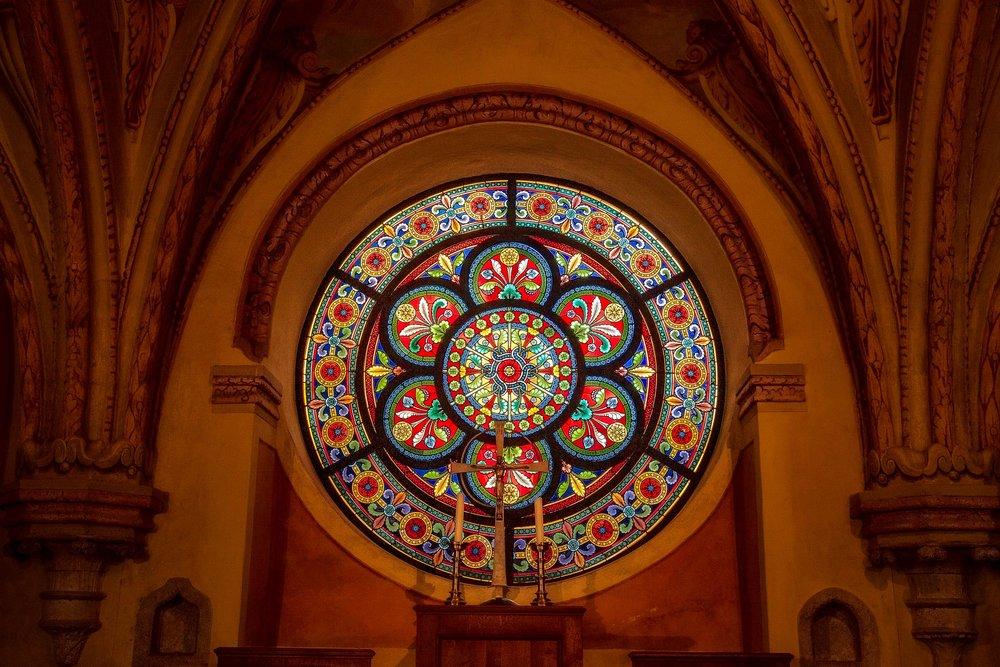 Chapel, Helligenkreuz Abbey, Austria