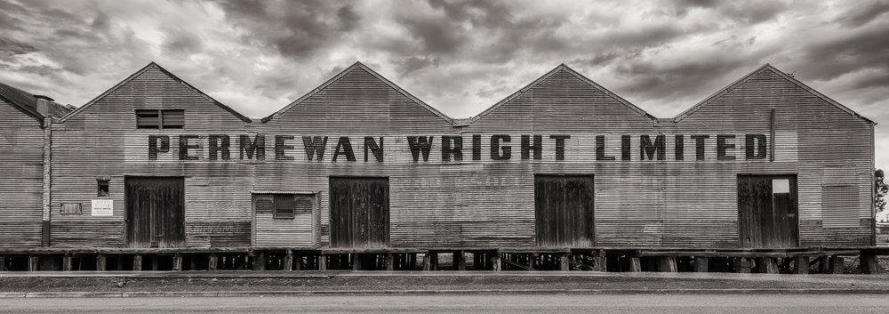 Permewan Wright Ltd Sheds, Hamilton, Australia