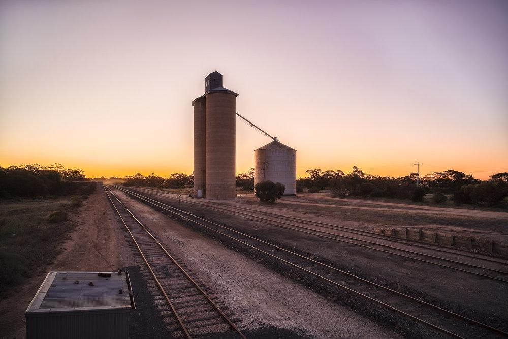 Cowangie Sunset, Sunraysia, Australia