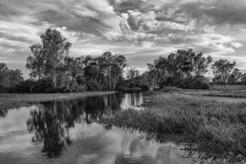 Kakadu Sky, Yellow Waters Billabong, Australia