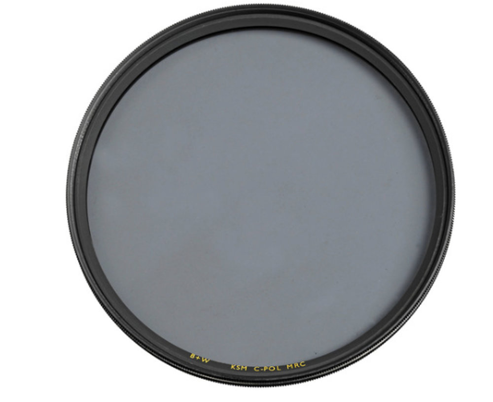 A  Circular Polarizing filter . My favorite brand of filter is the  German made B+W filter .