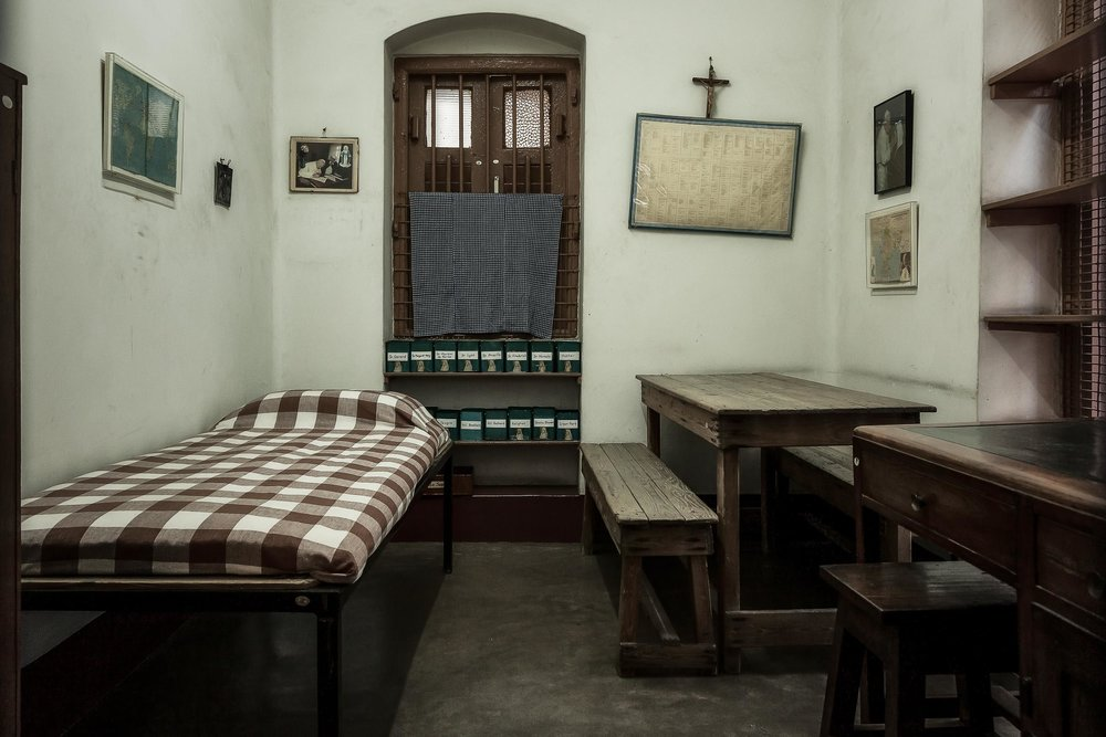 Mother Teresa's Bedroom, Kolkata, India
