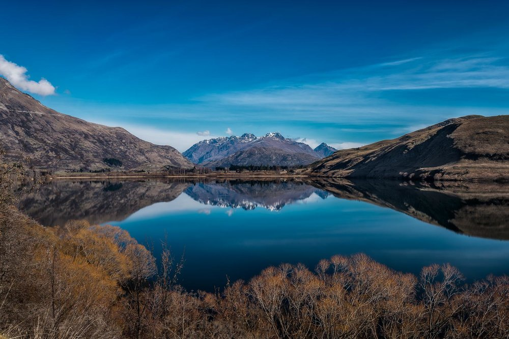 Neuseeland Postcard Lake Hayes