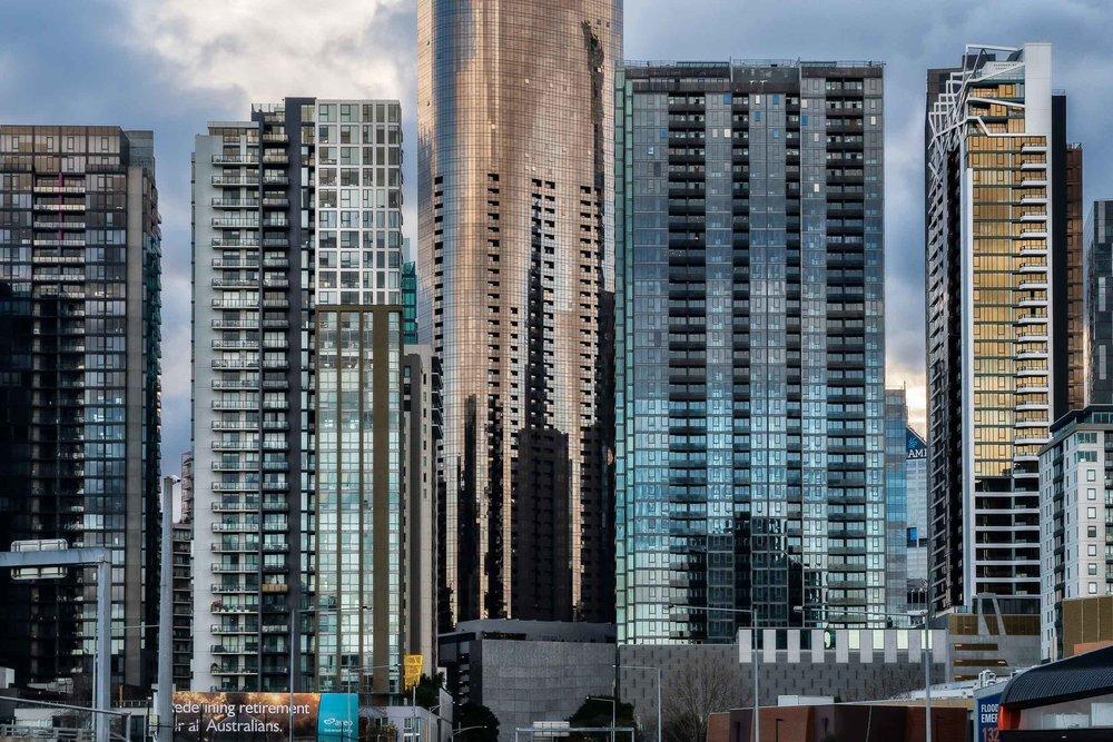 Lorimer Street Skyscrapers