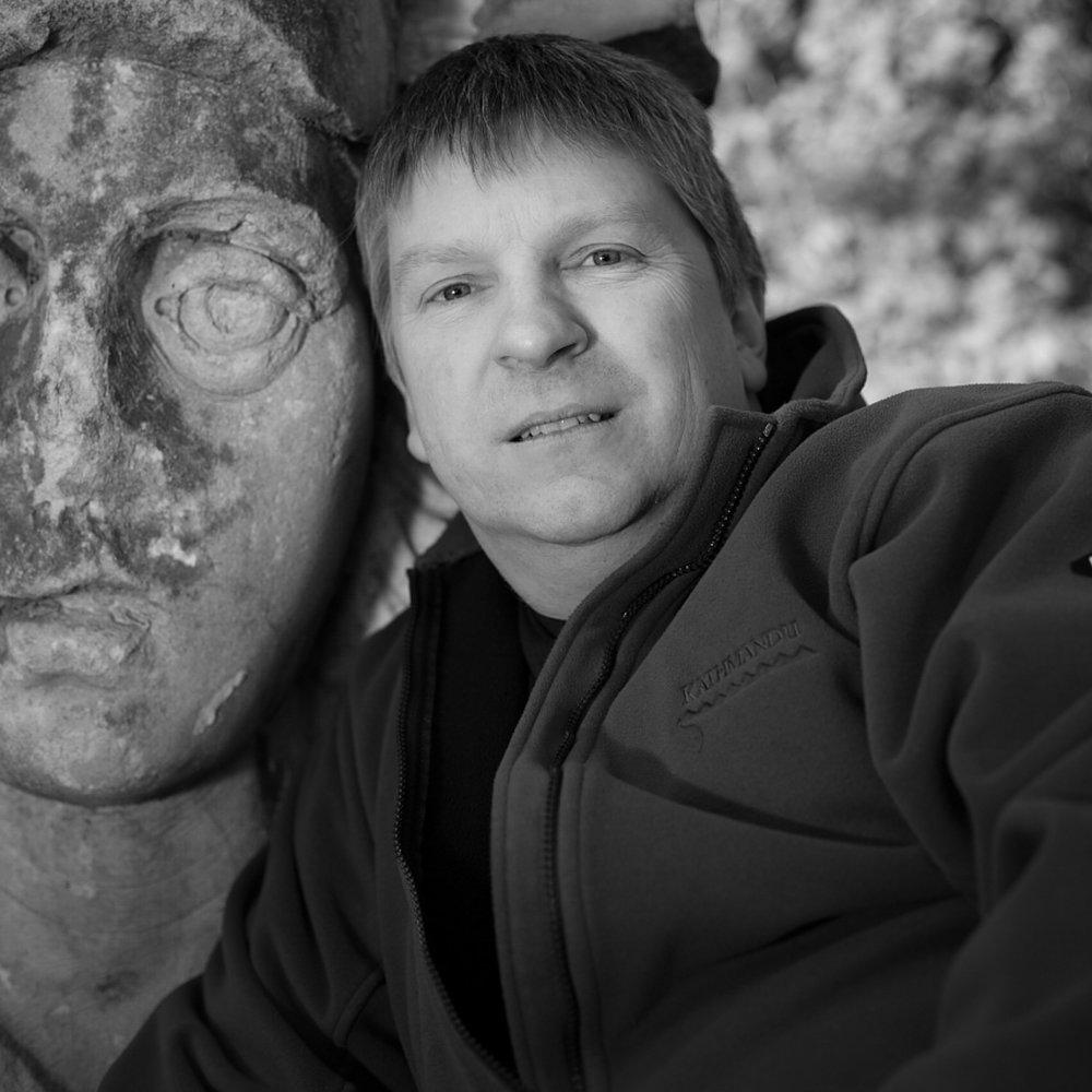 A black and white portrait of    Glenn Guy   , the    Travel Photography Guru    in Melbourne, Australia.