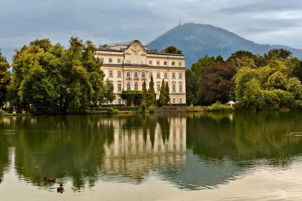 Schloss Leopoldskron    castle, one of numerous    Salzburg    locations from the film    'The Sound of Music'.