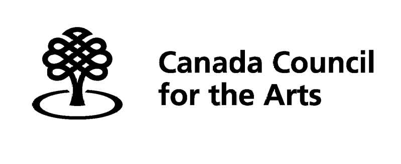 - Written with the generous support of the Canada Council for the Arts.