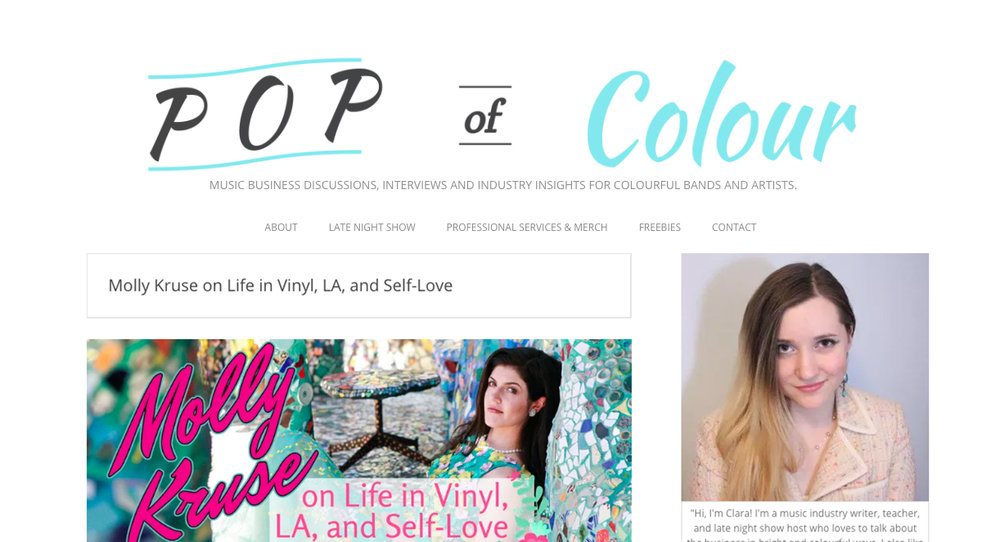 Pop of Colour Interview