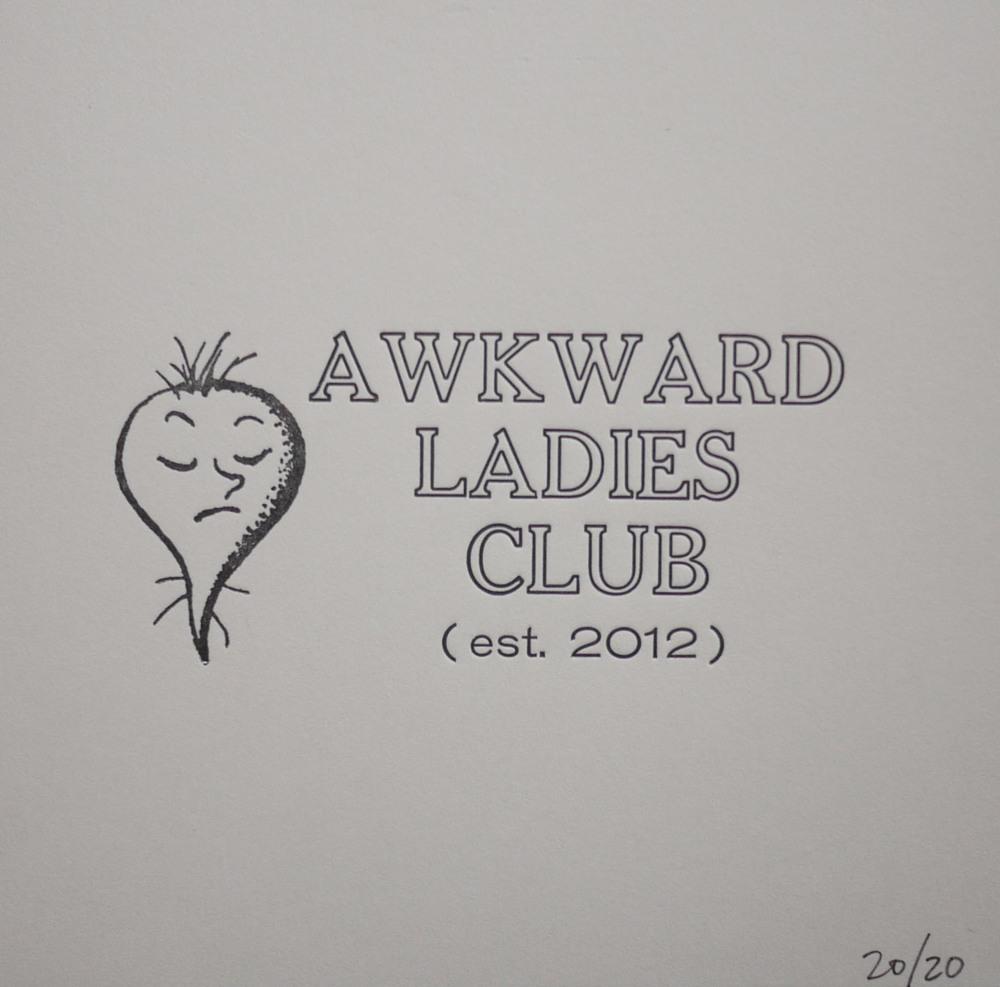 Membership Card, 2012 Lead type & antique dingbat Edition of 20