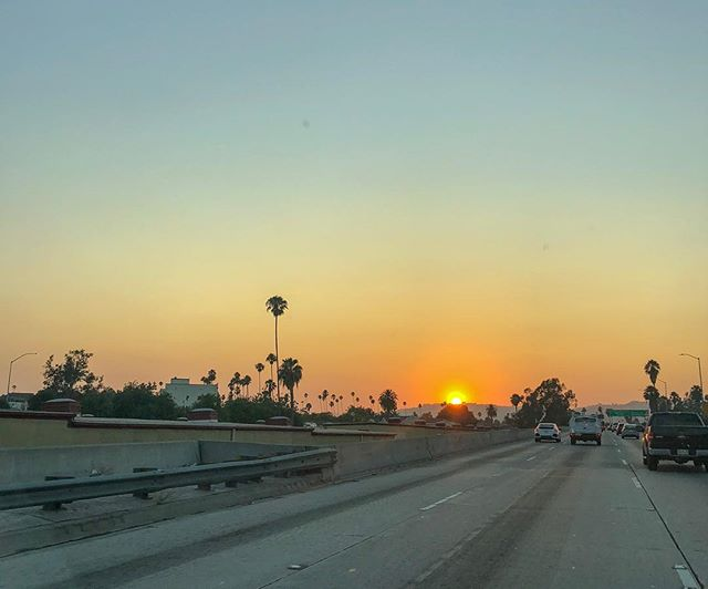 One more sleep at home. #losangeles you're really pulling at the heartstrings this trip. #bornpacked #sunset #101freeway #california