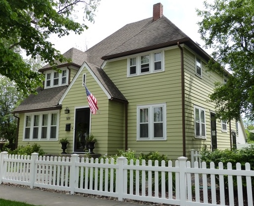 a house on the 2015 historic homes tour