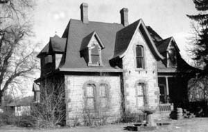 The 1879 Avery House - an early photo