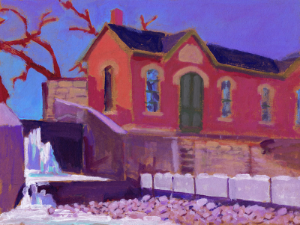 click the image to see an album of local artist carl judson's wondrous plein air paintings of the water works