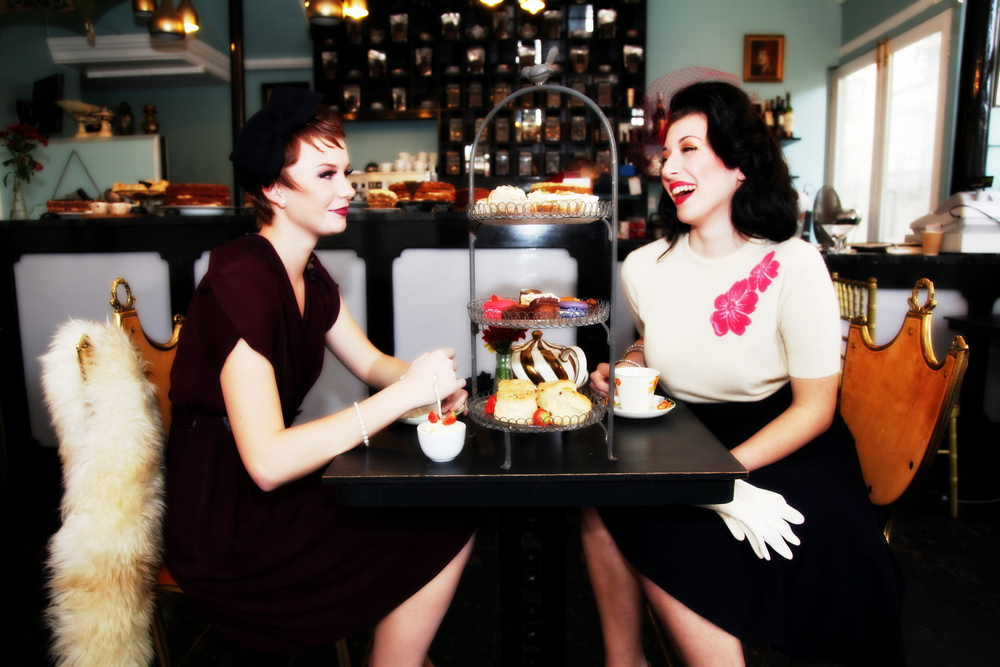 Metrodeco - Brighton  - Vintage Tea Salon - Hen Parties