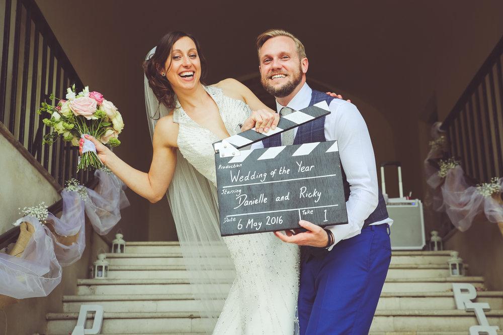 Danielle & Ricky - Farnham Castle - Farnham