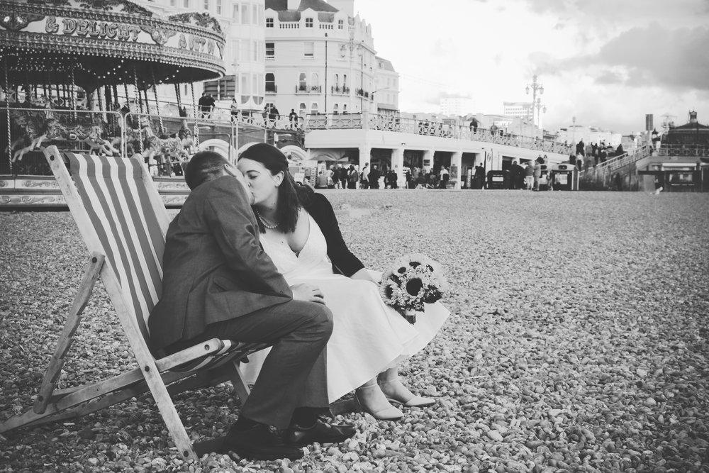Caroline & Stuart - Brighton Seafront
