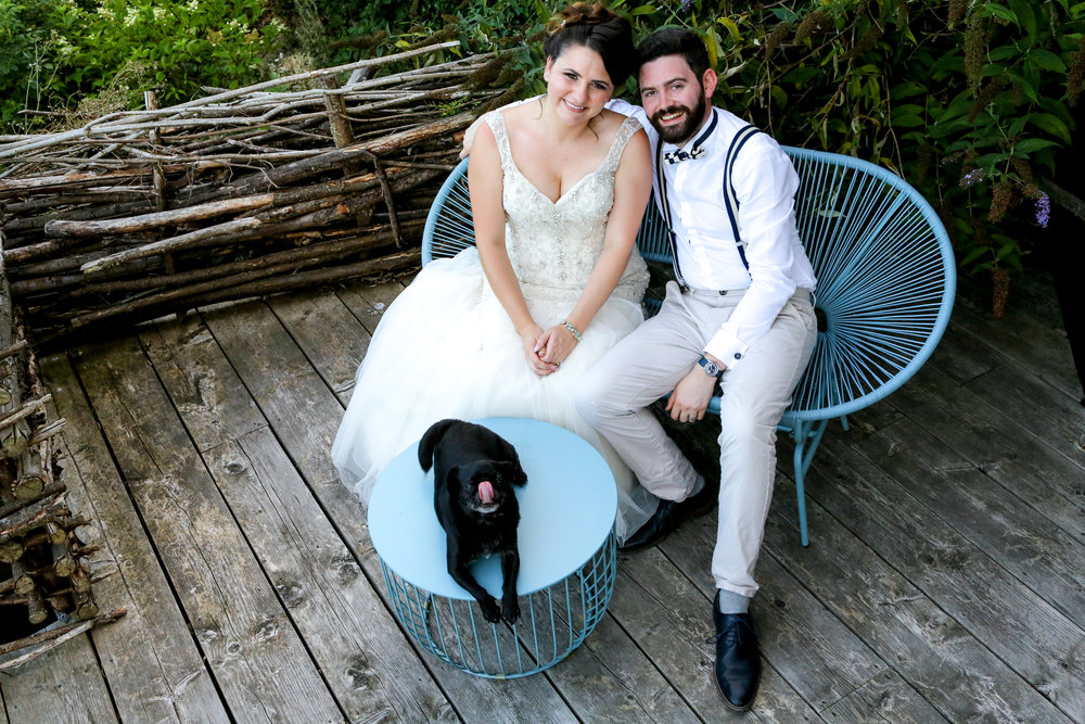 Nick and Jaz are amazing! Their photos are incredible, they are friendly and have a wonderful sense of humour. They made everyone feel very comfortable and it really shows in their work. Extremely passionate and well thought out. - Kate & Oscar - The Bell Ticehurst