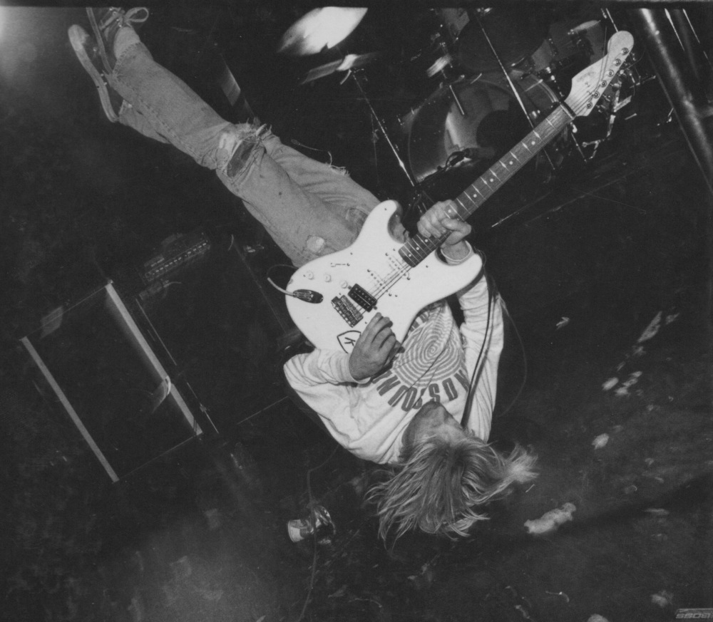 Kurt Cobain Upside Down