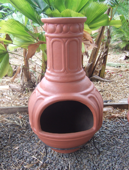 "Colonial Mexican Chiminea -42"" Tall x 22"" wide"