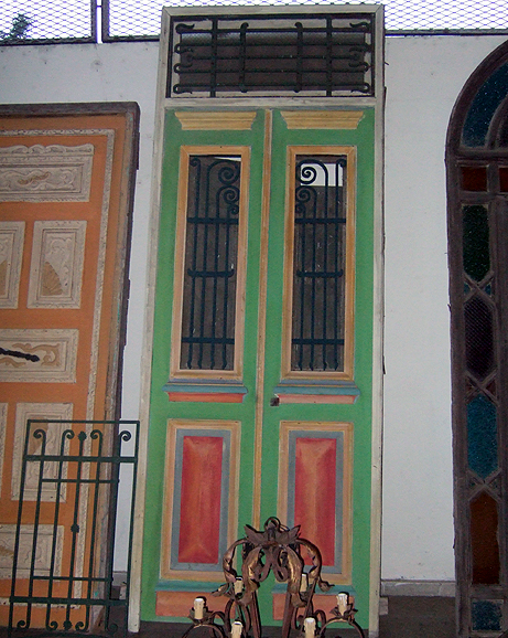 Bright Green Door.JPG