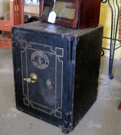 Heavy Antique English Safe