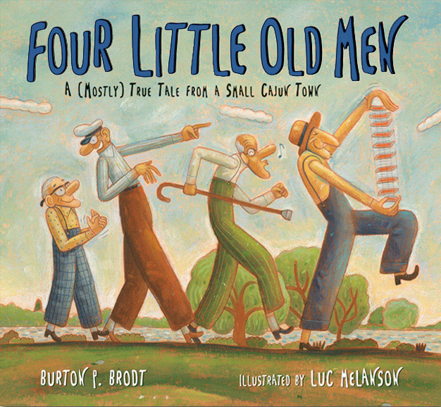 Four Little Old Men Picture Book