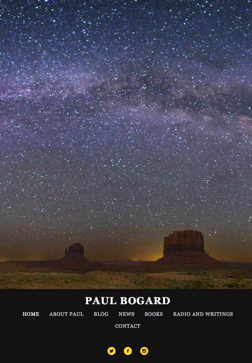 Paul Bogard Author Website