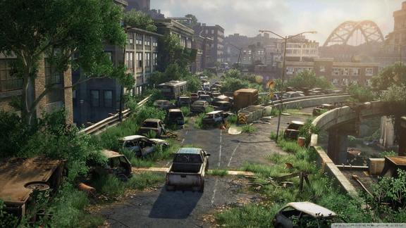 Philadelphia, as imagined by Naughty Dog and Sony 20 years after a horrific virus decimates humanity.