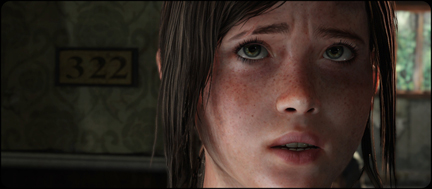 The character of Ellie in The Last of Us. Look at her expression. Then tell me this isn't art.