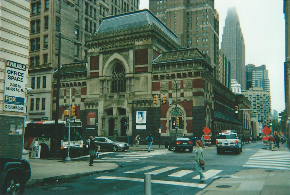 PAFA's museum building in 2005